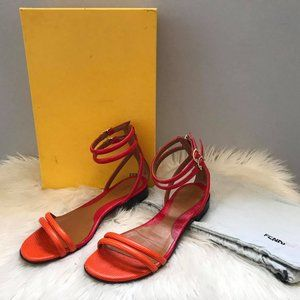 FENDI Gladiator sandals sz 36